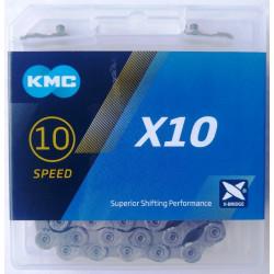 Łańcuch KMC X10 Gray/Gray Box